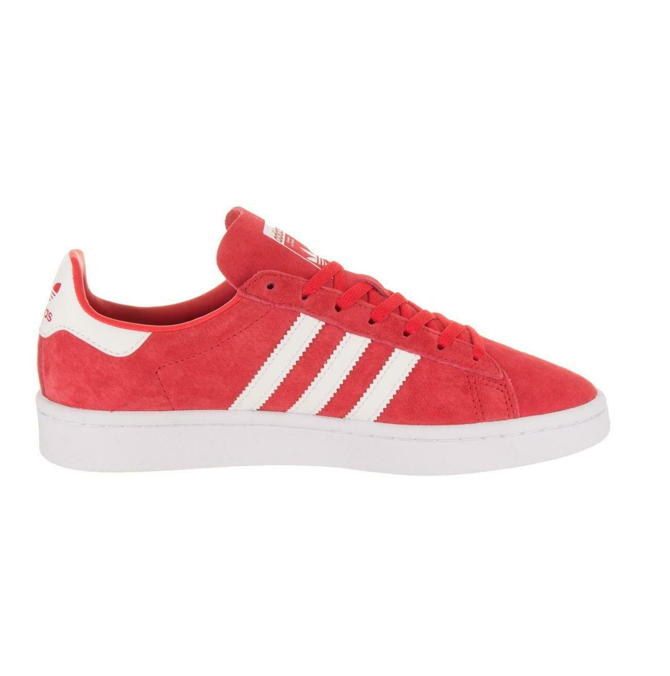 Womens ADIDAS CAMPUS W Red Trainers DB1018