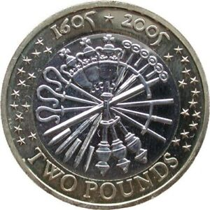 2005-UK-Muenze-Guy-Fawkes-1605-Gunpowder-Plot-Selten-0-9kg-Teile