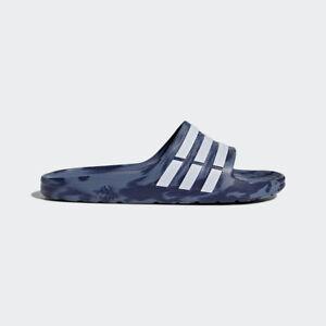 912dc30fc3265b NEW Adidas Mens Duramo Sliders Flip Flops Camo Print SIZE FROM 4-15 ...