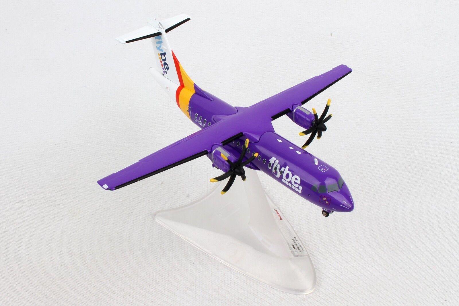 HE559256 HERPA WINGS FLYBE ATR-42-500 1 200 DIE-CAST MODEL AIRPLANE G-ISLF