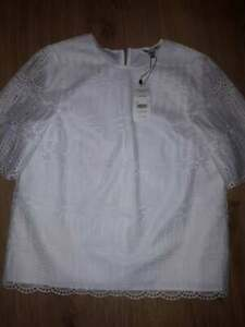 L Size K Tw 10 Milia White Bnwt Bennett 1OS1cRg
