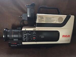 Rca Pro Edit Cc310 Camcorder W Hard Shell Case Vhs Hq Ss Image Sensor Bundle Ebay