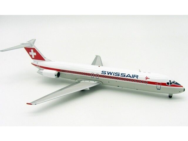 Swissair DC-9-41 (HB-IDY), 1 200, 200, 200, Inflight  Airmail Exclusive Model  SELTEN  938287