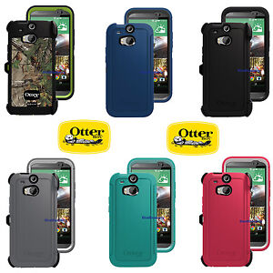 best service d1716 2e9ea Details about New OtterBox Defender Series Case + Holster Belt Clip for HTC  One M8
