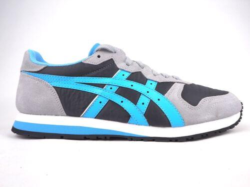 para Asics deporte Hl517 oscuro Zapatillas de gris con 1641 hombre casuales cordones Oc Runner qaX6ntW