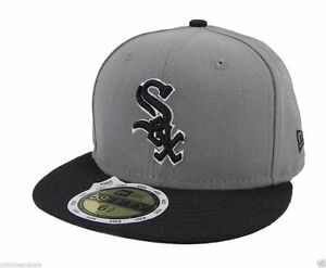 c77fdd8c41a New Era 59Fifty Kids Cap Chicago White Sox MLB Basic Storm Gray ...