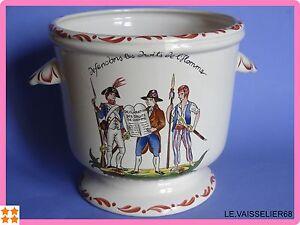 Un Cache Pot En Faience De Saint Clement Bicentenaire Revolution 1789 Gagner Une Grande Admiration Et On Fait Largement Confiance à La Maison Et à L'éTranger.