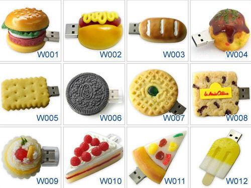 Funny Food model USB 2.0 Memory Thumb Stick Flash pen Drive 4GB-32GB P323