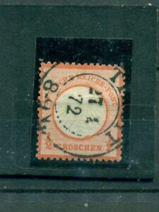 Deutsches Reich, aquila con scudo del petto n. 3 timbrato