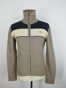 G-STAR-MAGLIONE-CASUAL-con-ZIP-100-LANA-Cardigan-Sweater-Pullover-Tg-L-Uomo