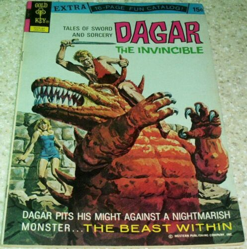 8.0 VF Dagar the Invincible 2 1973 The Beast Within 40/% off Guide!
