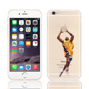 buy popular bd911 796df Details about KOBE BRYANT Slam Dunk iPhone Case 5 6 6+ 7 7+ 8 8+ w/Free  Glass Screen Protector