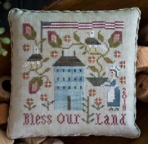 Bless-Our-Land-Plum-Street-Samplers-New-Chart