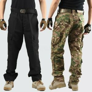 Novelty & Special Use Military Uniforms Men Hunting Clothing Black Security Clothing Tactical Combat Shirt Work Wear & Uniforms cargo Pants Outdoor Army Work Suit Sale Price