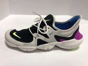 Nike Free Run 5.0 Men's Size 10.5M Running Shoes, Black ...