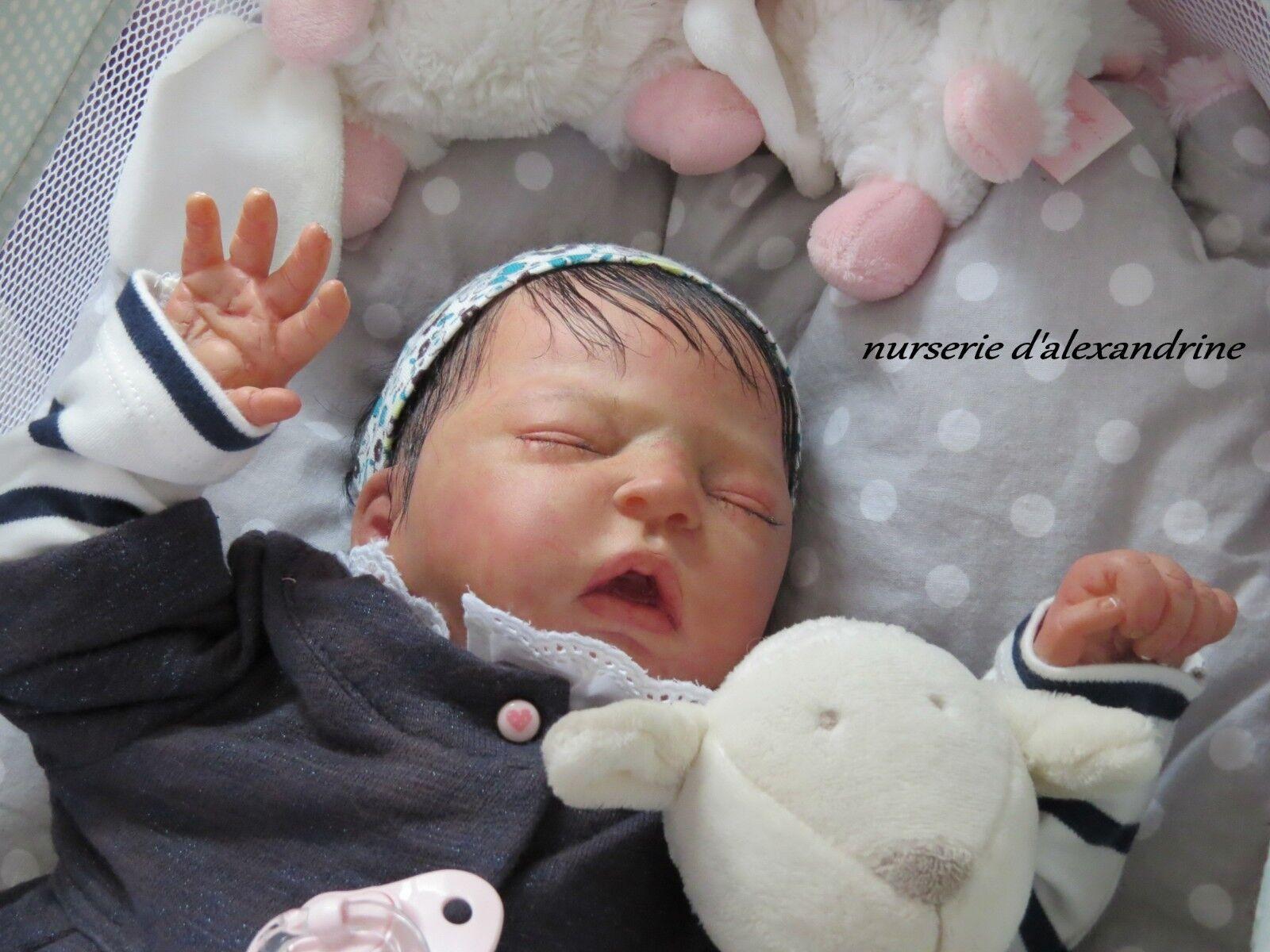 Bebe reborn clara nurserie d'alexandrine