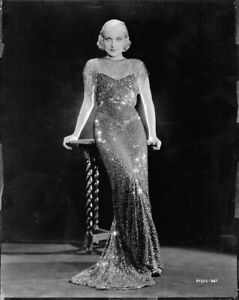 Carole-Lombard-sexy-and-sleek-VINTAGE-8x10-NEGATIVE