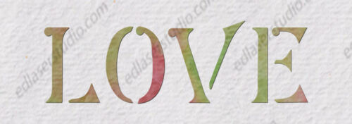Mix /& Match Family Favorite Words Stencil Vintage Template Paint Furniture WO1