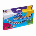 Little Brian Lbps05mca12 Mini Paint Sticks in 12 Assorted Colours