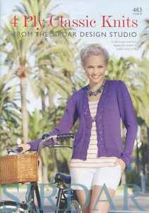 Sirdar-4-Ply-Classic-Knits-Pattern-Book-using-Sirdar-Cotton-4-ply-483