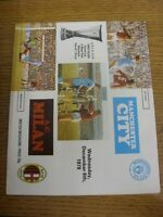 06/12/1978 Manchester City v AC Milan [UEFA Cup] [Token Number: 23] (Folded, sli
