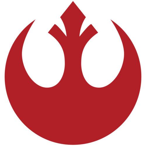 """Star Wars Rebel Alliance Star Crest Logo 6/"""" Vinyl Decal Sticker Starbird Phoenix"""