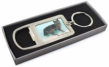 Selkirk Rex Cat 'Love You Mum' Chrome Metal Bottle Opener Keyring , AC-110lymMBO