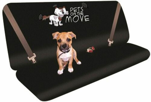 Rear Seat Protector Cover for Pets Dogs with Logo fits BMW X1 09-On