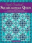 Simply Sensational Square-agonals Quilts by Sandi Blackwell (Paperback, 2013)