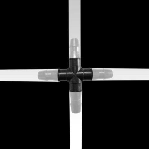 30PCS 1//4/'/'4 Ways Cross Connecter For 4//7mm Micro Hose Drip Irrigation Cross