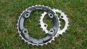 for 34-24T Crankset 24T Shimano Deore XT M8000 2x11 speed Chainring 34T