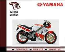 yamaha service manual general version yamaha tzr250 ebay rh ebay co uk Yamaha TZ125 Street-Legal Yamaha TZ250