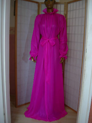 Adult Nylon Abito Baby Cameriera Abito Maid Transperant Stof Rosa- Moderno Ed Elegante Nella Moda