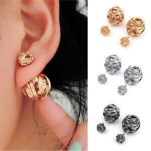 2Pairs-Women-Double-Sides-Pearl-Earring-Two-Ball-Stud-Earring-PiercingJewelryLDU