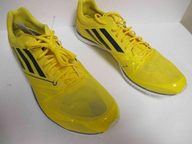 NEW adidas adizero MD 2 - Yellow Running, Cross Training (Men's Multiple Sizes)