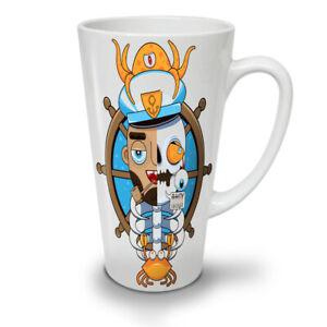 Pirate Dead Skull Funny NEW White Tea Coffee Latte Mug 12 17 oz | Wellcoda