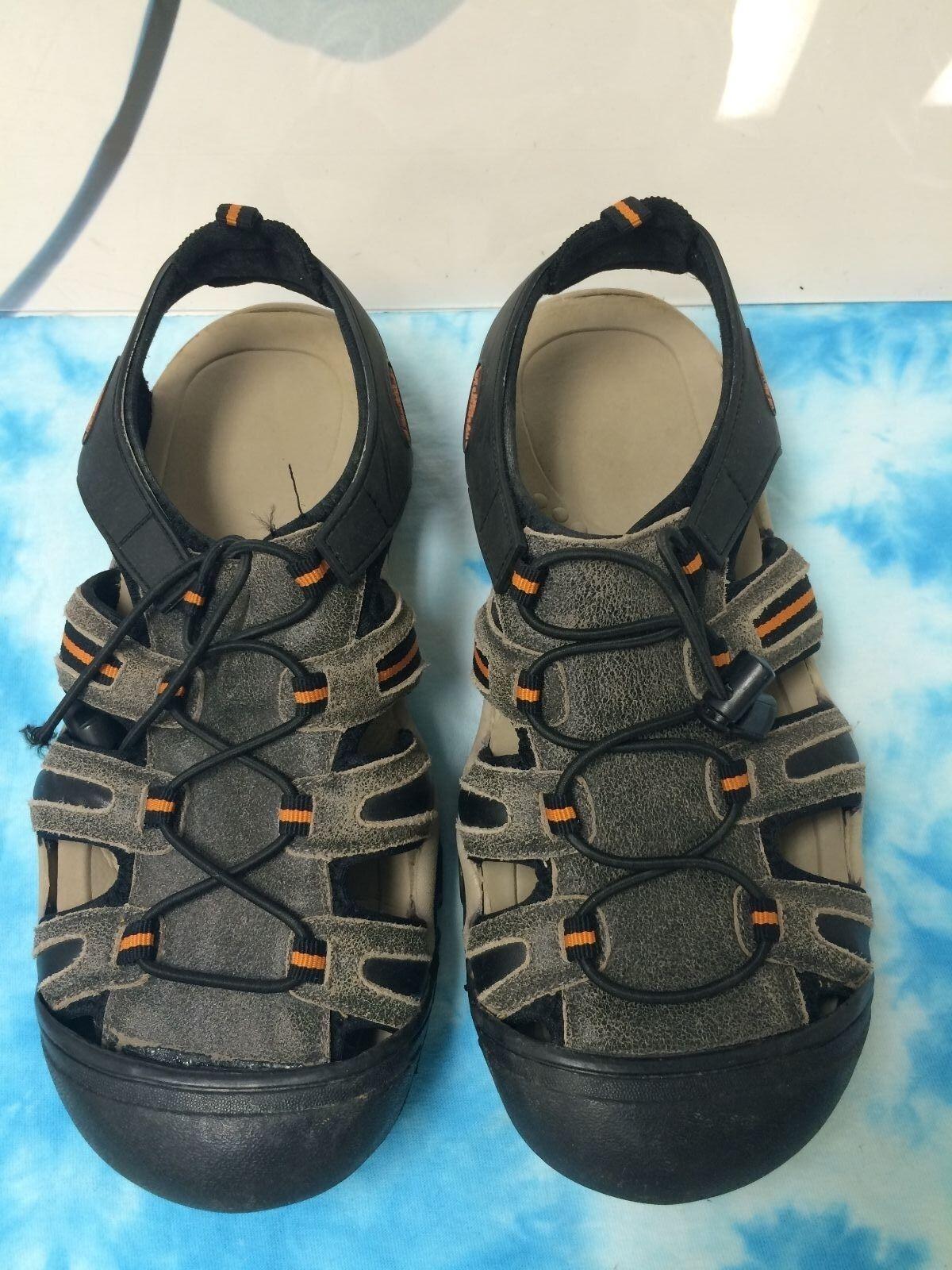 TAMARACK Mens Mens Mens Leather SANDALS Size 8 21cc9d