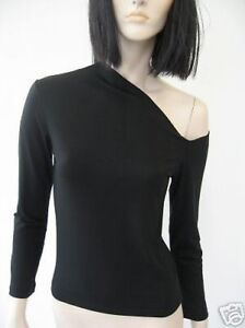 Jersey intriguing and sexi shoulder naked long sleeve