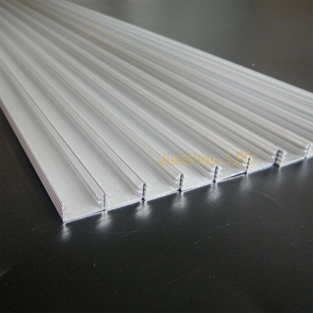 10PCS 0.5M U Type Aluminum Groove Shell For 5630 7020 5050 LED Rigid Strip Light