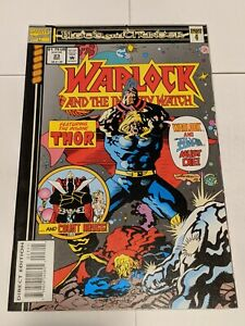 Warlock And The Infinity Watch #23 December 1993 Marvel Comics Insane Thor