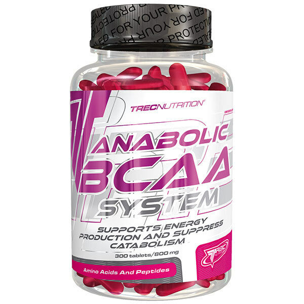 Anabolic BCAA System Body Building Muscle Mass Supplement Tablets