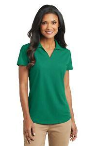 Port-Authority-Ladies-Dry-Zone-Dri-Fit-Golf-Polo-Shirt-Size-XS-4XL-NEW-L572