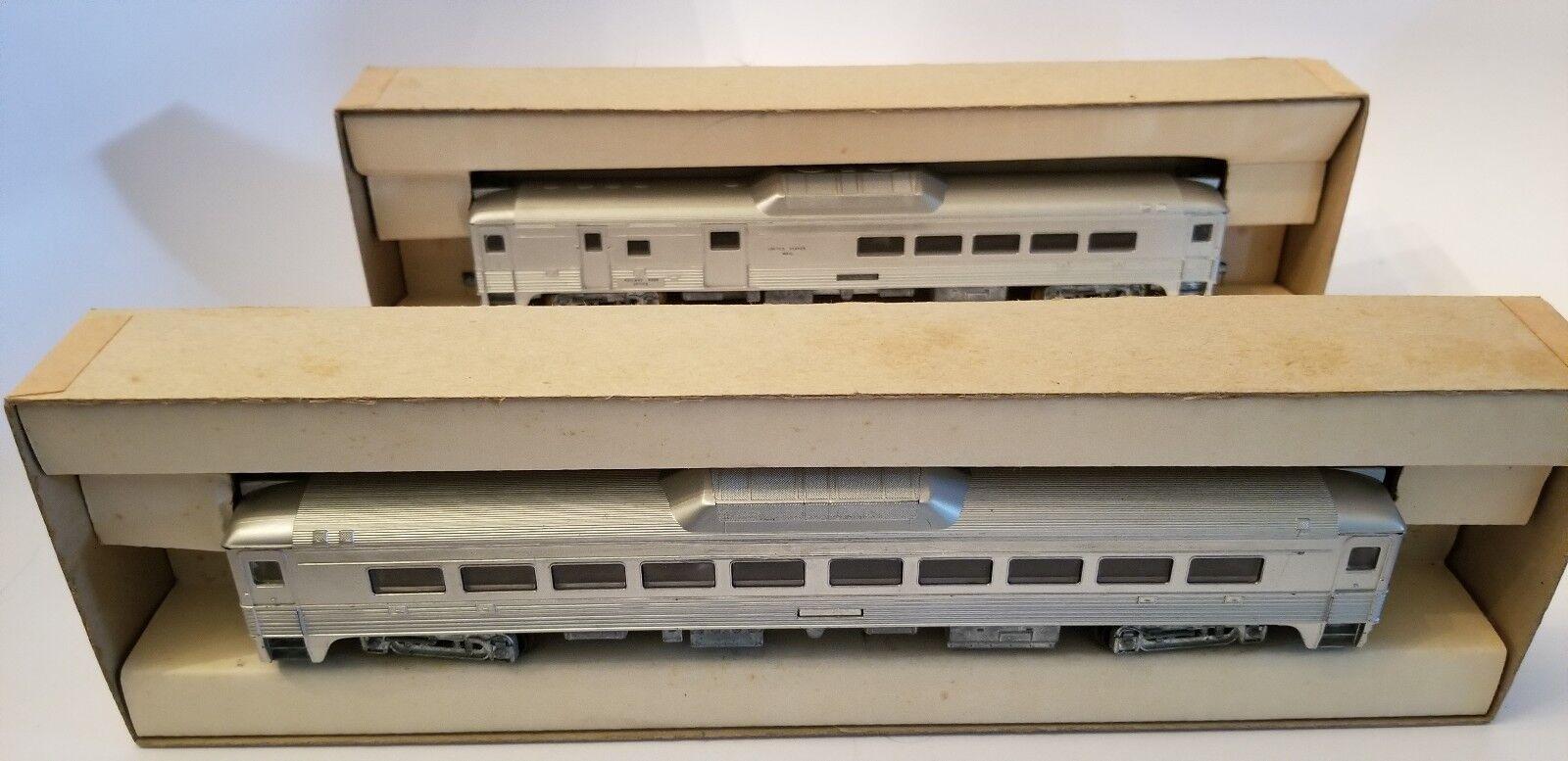 Post War 2 Miniature Athearn - RDC-1 NH (Dummy) & RDC 3 NH - HO Rail Diesel Car
