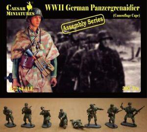 Caesar Miniatures H7217 (7717) - Wwii German Panzergrenaidier - 1:72