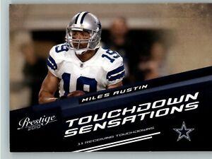 2010 Playoff Prestige Touchdown Sensations #12 Miles Austin - Dallas Cowboys