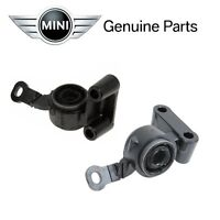 Mini Cooper Pair Set Of 2 Front Bushing With Bracket For Control Arm Genuine on Sale