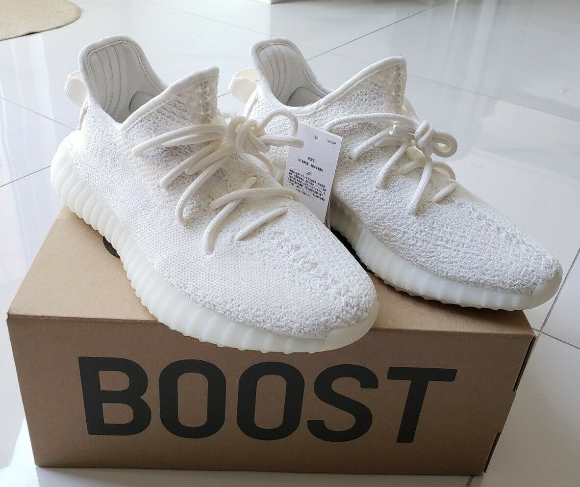 Adidas White Yeezy 350 V2 Cream White Adidas Boost Brand New!AUTHENTIC** Size 7 1/2 US 9ac31a