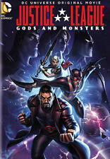 NEW DC UNIVERSE MOVIE JUSTICE LEAGUE GODS AND MONSTERS DVD FREE 1STCLS S&H