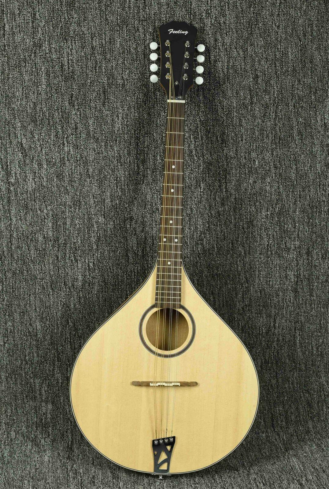 Feeling handgemacht bousouki, mandola, solid spruce top,OEM,3,Free shipping