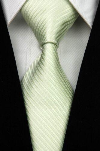 Men Tie New Classic Striped Jacquard Woven Silk Business Party Wedding Necktie